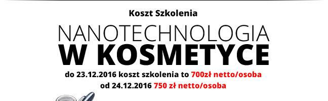 Koszt szkolenia: 750 zł netto/osoba